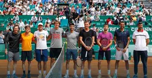 """Monte Carlo: """"Dị nhân"""" chấp cả Djokovic & 6 tay vợt"""