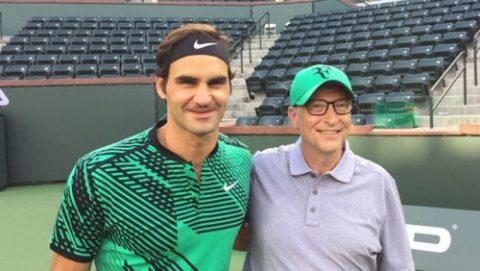 Tin thể thao HOT 28/4: Tỷ phú Bill Gates háo hức đánh cặp Federer