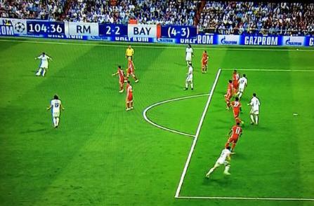 Bàn thắng việt vị rõ như ban ngày của Ronaldo
