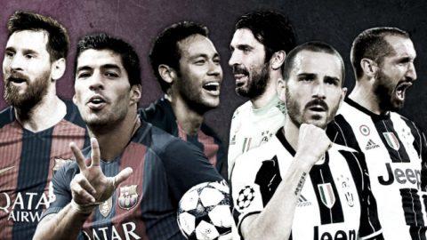 Chống MSN, Juventus cũng có… BBC