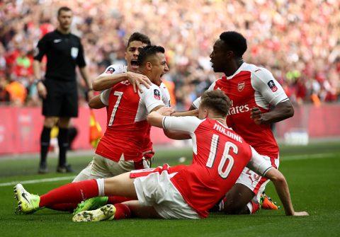 Vượt M.U, Arsenal lập kỉ lục mới ở FA Cup