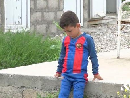 Cậu bé bị IS giam giữ vì có tên là… Messi