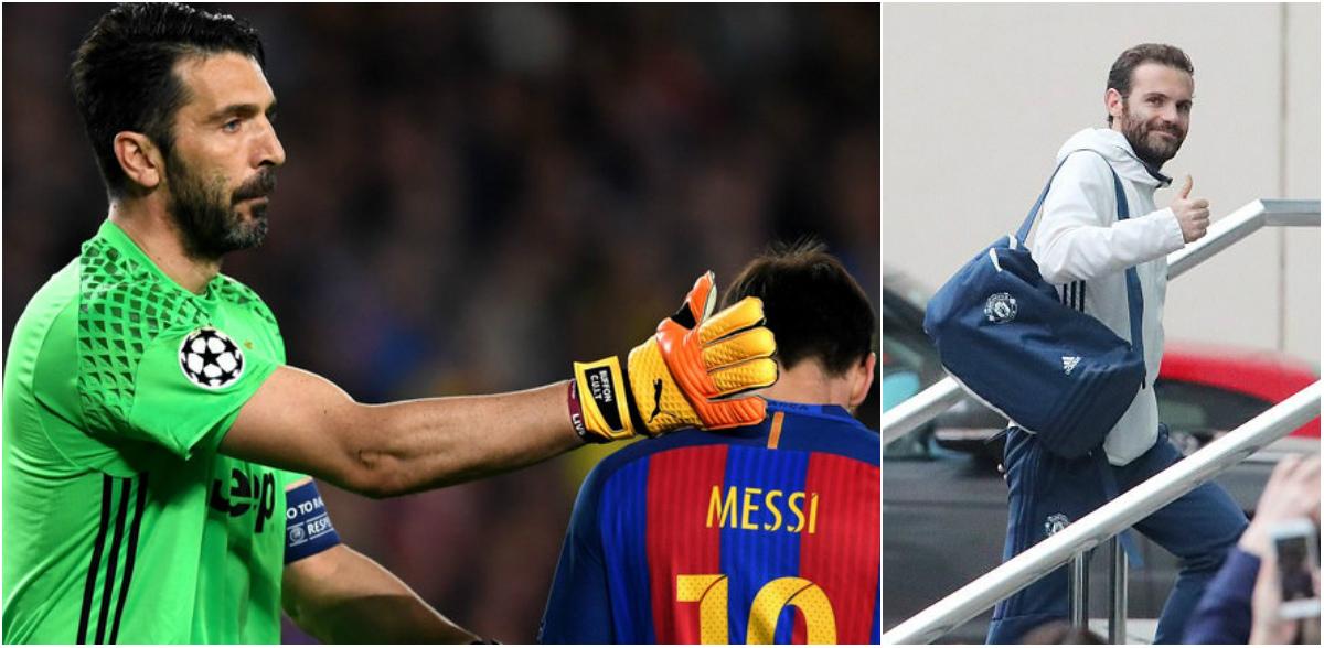Điểm tin chiều 30/04: Buffon suýt giải nghệ vì Barca; Mata báo tin vui cho M.U