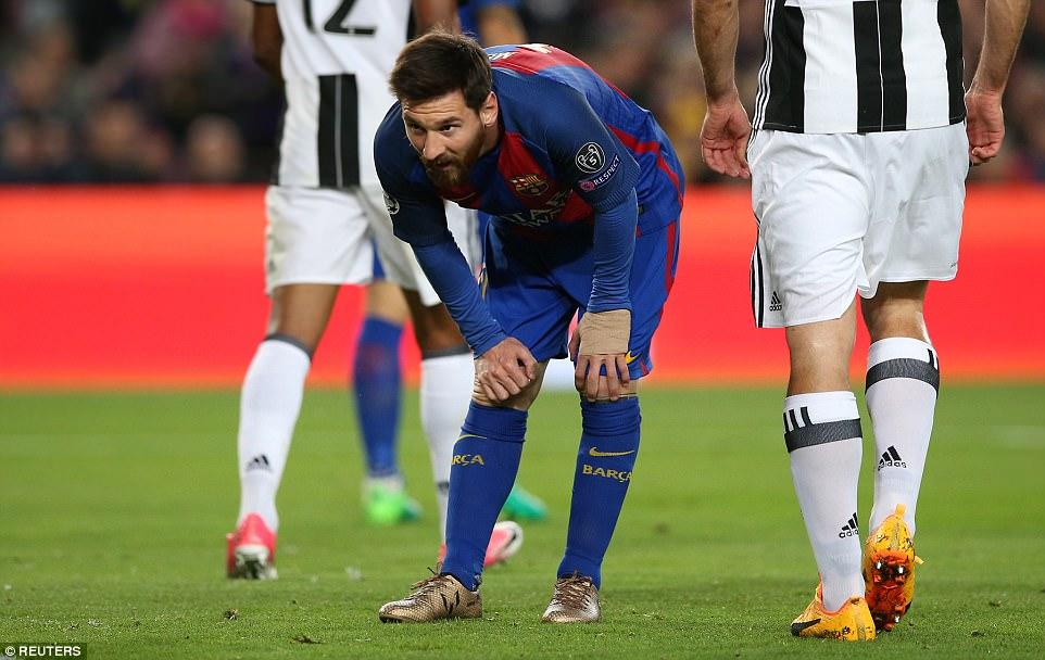 Không có phép màu, Barca chính thức cúi đầu rời Champions League