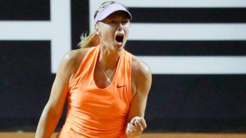 Thắng trận tái xuất, Sharapova vẫn bị gọi là 'kẻ lừa dối'