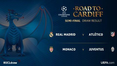 Derby thành Madrid ở bán kết Champions League