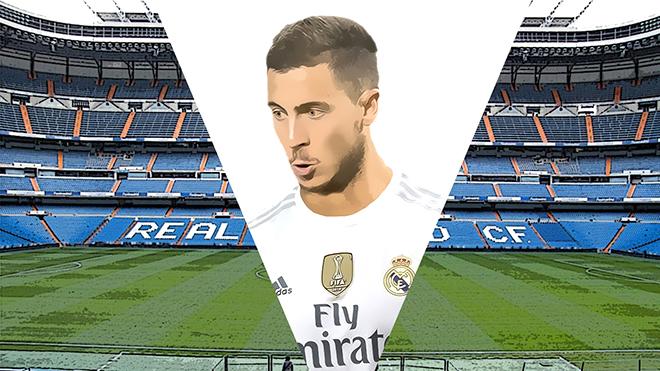 Chốt xong hợp đồng , Real mang vali tiền đón siêu sao Hazard về Bernabeu