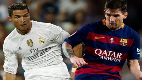 Trước thềm El Clasico: Messi sẽ phải 'cúi đầu' nếu nhìn vào các thống kê của Ronaldo