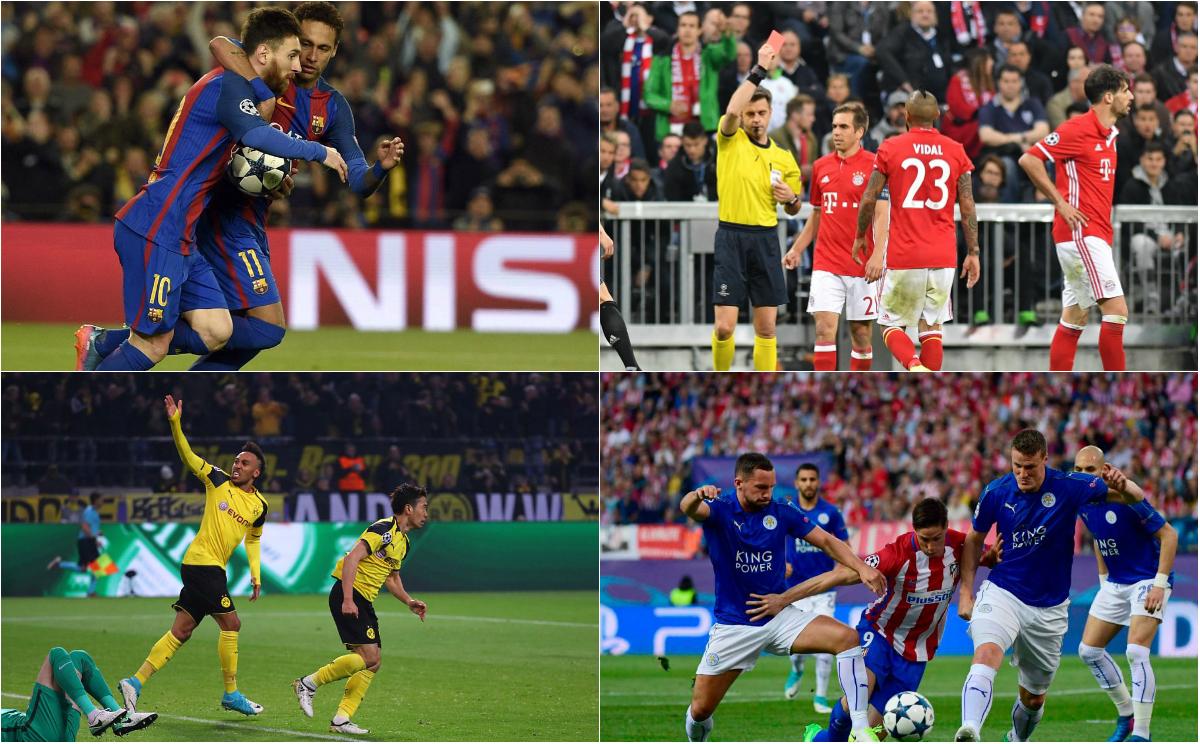 Trước lượt về tứ kết Champions League: Sức bật chân tường