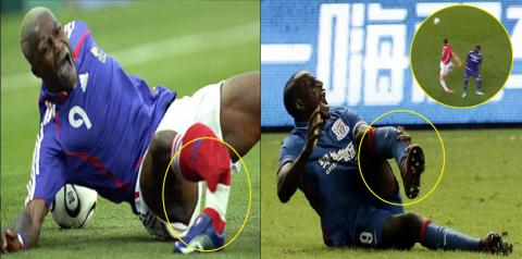 Ibrahimovic và 10 chấn thương kinh hoàng trên sân cỏ