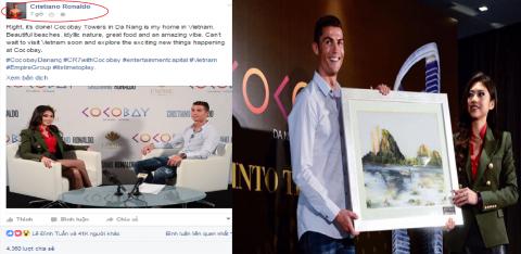 Lộ Clip Ronaldo nói tiếng Việt cực dễ thương khiến cộng đồng mạng điên đảo