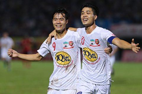 Công Phượng lọt top Vua phá lưới V-League 2017