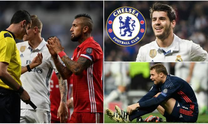 Tin HOT tối 19/04: Chelsea đạt thỏa thuận mua Morata; 3 cầu thủ Bayern làm loạn phòng thay đồ trọng tài