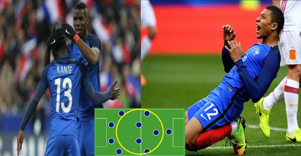 Siêu đội hình 9x của ĐT Pháp dự World Cup 2018 khiến cả thế giới run sợ vì quá khủng
