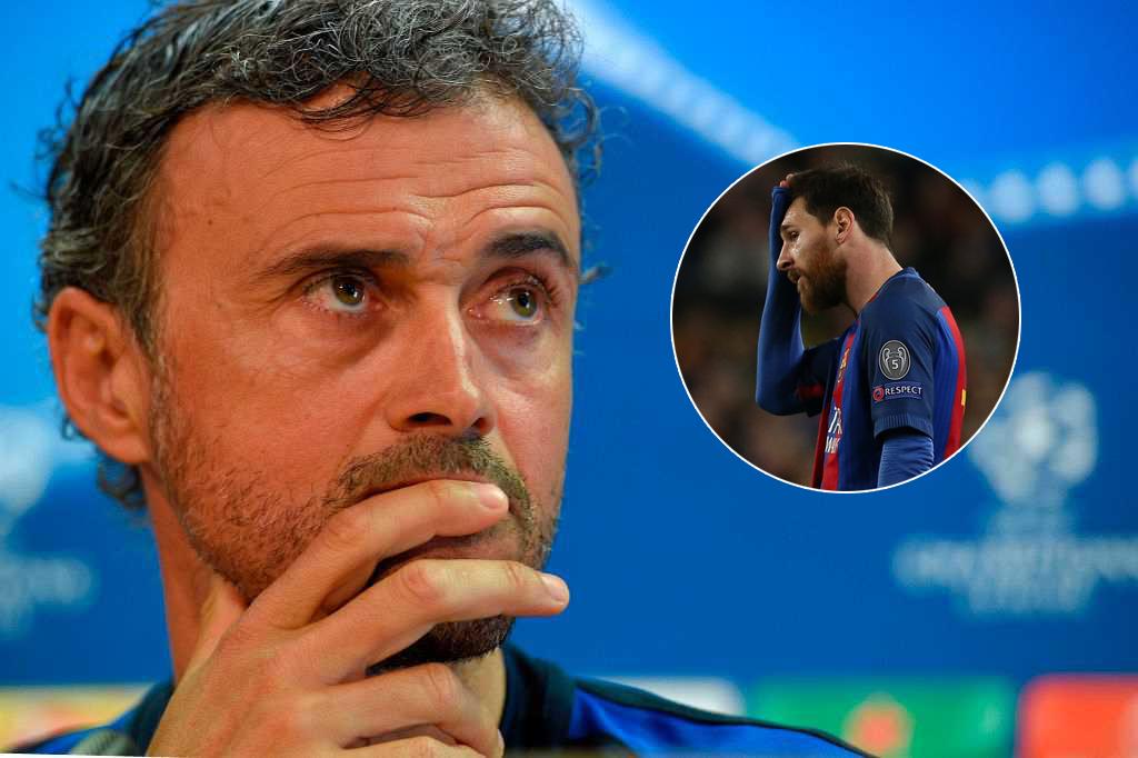 HLV Enrique cay đắng chấp nhận thất bại trước Juventus