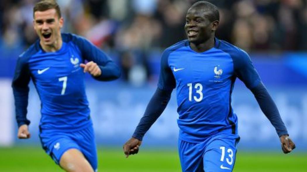 Cầu thủ Pháp hay nhất: Vắng Pogba, Griezmann đấu Kante