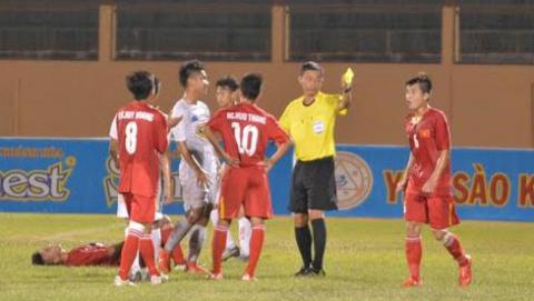 U19 Việt Nam đánh bại U19 HAGL trong trận cầu có 2 thẻ đỏ