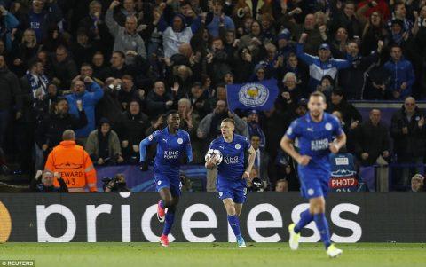 Hòa Atletico, Leicester chính thức chấm dứt câu chuyện cổ tích tại Champions League