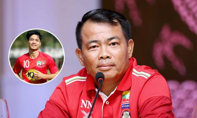 """HLV U19 Myanmar: """"Công Phượng rất nổi tiếng ở nước chúng tôi'"""