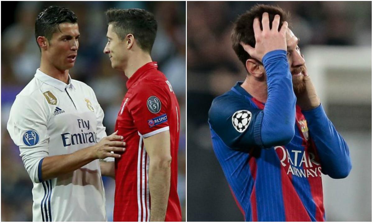 Điểm tin sáng 22/04: Ronaldo lôi kéo Lewy tới Real; Messi ngày càng tệ ở El Clasico