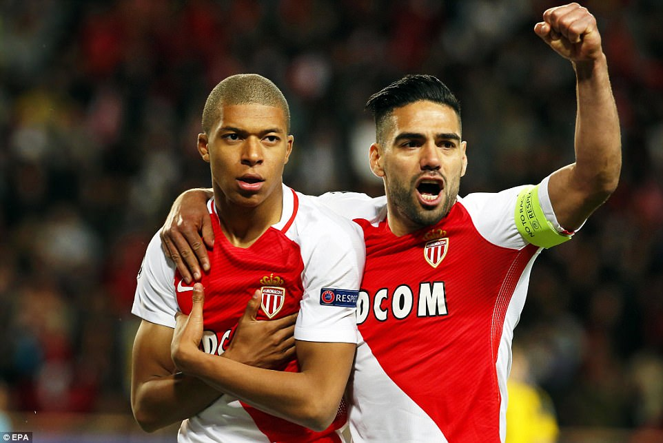 Song tấu Falcao-Mbappe nổ súng, Monaco đá bay Dortmund khỏi Champions League
