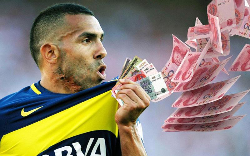 Choáng ngợp với những gì Tevez có thể mua chỉ với 1 tháng lương ở Trung Quốc