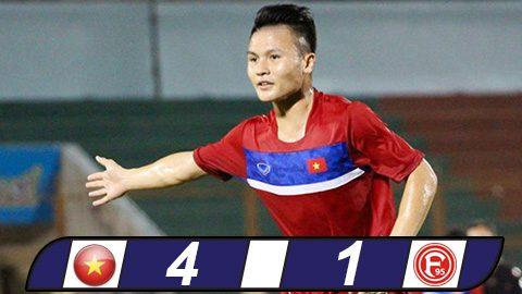 U20 Việt Nam thắng đậm trận cuối trên đất Đức