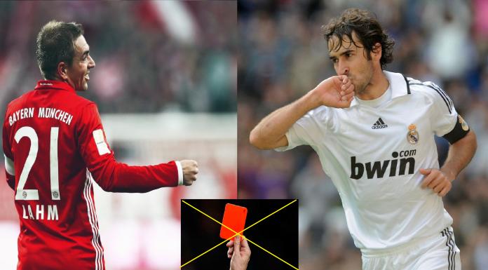 10 cầu thủ trong suốt sự nghiệp chưa từng bị phạt thẻ đỏ : Họ là ai ?