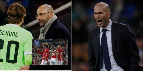 Điểm tin chiều 12/05: HLV Ajax dằn mặt M.U; Zidane thừa nhận sợ Juventus