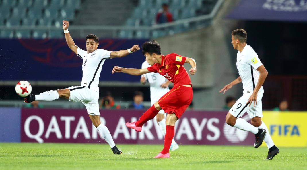 Báo New Zealand 'sửng sốt' trước màn trình diễn của U20 Việt Nam