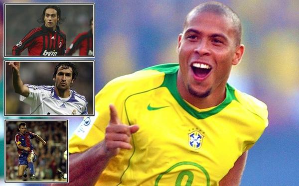 """""""Ronaldo béo"""": 10 cái tên xuất sắc nhất mà tôi từng có vinh dự chơi bóng cùng"""