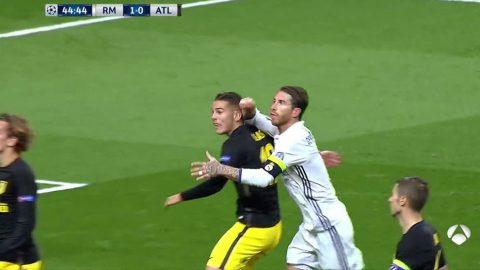 Real xứng đáng nhận 2 thẻ đỏ, 1 quả penalty