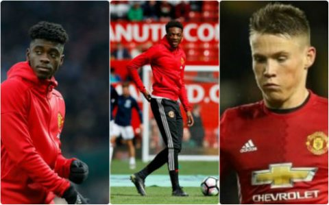 10 sao trẻ Man Utd sẵn sàng đối đầu Arsenal cuối tuần này