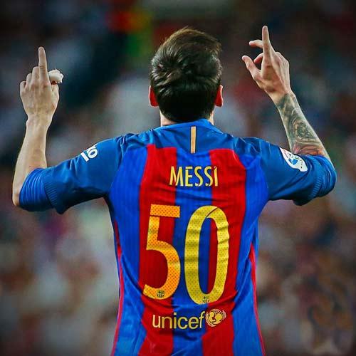 Messi tiệm cận sự hoàn hảo sau loạt thống kê khó tin