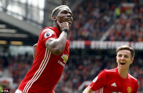 VIDEO: Man United 2-0 Crystal Palace (Vòng 38 Ngoại hạng Anh 2016/17)