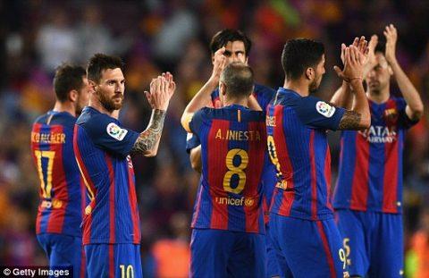 VIDEO: Barcelona 4-2 Eibar (Vòng 38 La Liga 2016/17)