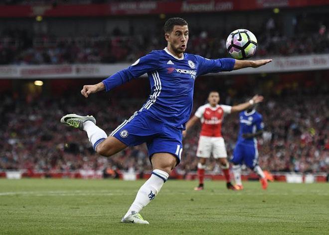 Chuyển nhượng Chelsea: Đổi Hazard lấy 2 sao bự Real