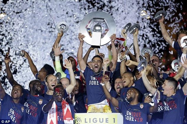Monaco vô địch League 1 sau 17 năm: Câu chuyện cổ tích vĩ đại