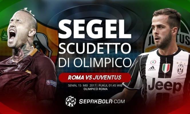 Roma vs Juventus 01h45, 15/05: Ngôi vương vẫy gọi