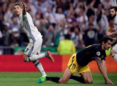 Ronaldo lập vô số kỷ lục vĩ đại sau cú hat-trick vào lưới Atletico