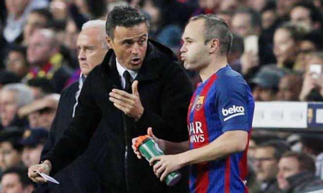 Iniesta dự tính 'Treo Giày' ngay hè 2018