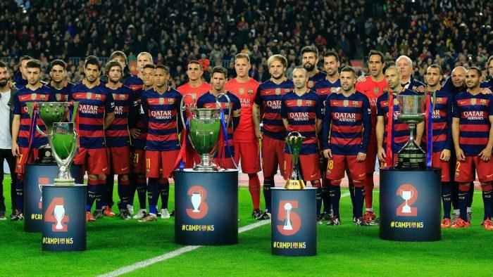 Barca là đội bóng số 1 La Liga trong 2 thập kỉ qua