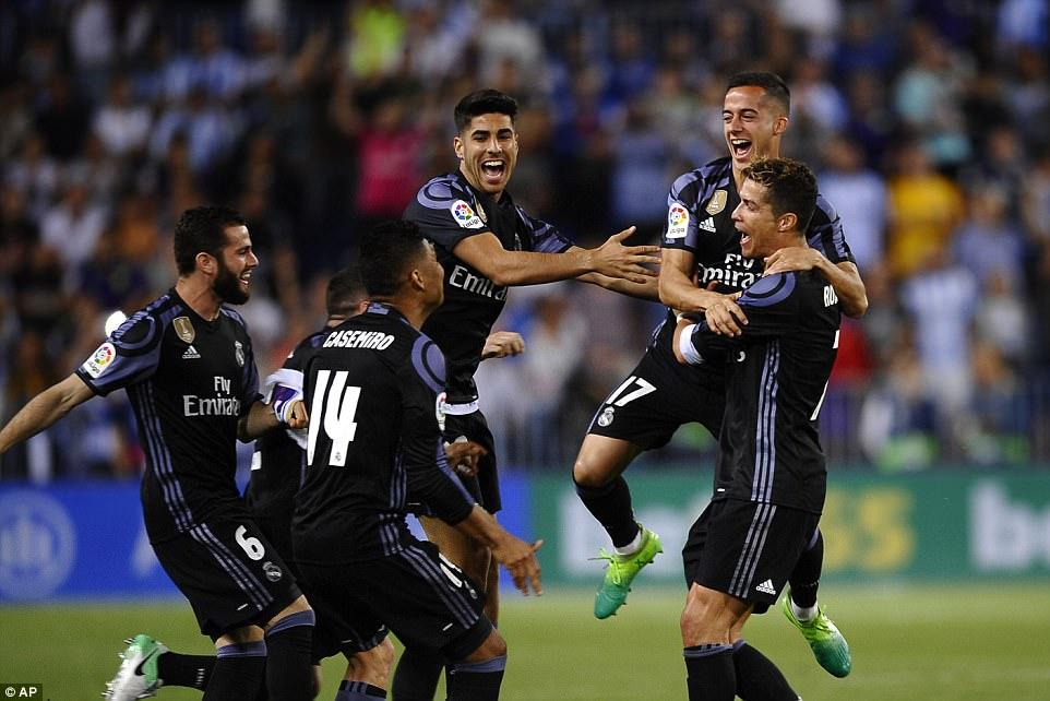 VIDEO: Malaga 0-2 Real Madrid (Vòng 38 La Liga 2016/17)