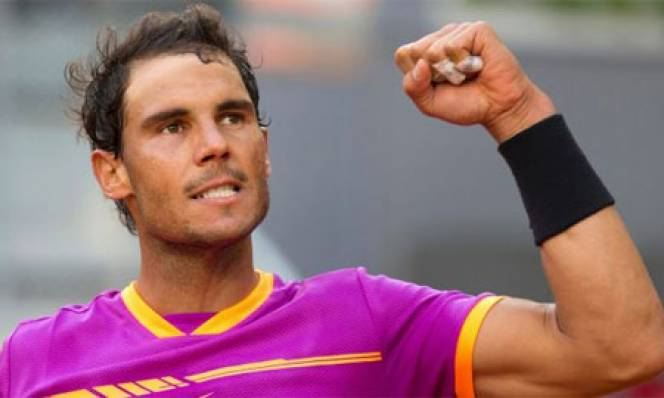 Dễ dàng đánh bại Nick Kyrgios, Nadal lọt vào tứ kết Madrid Masters