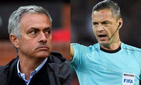 UEFA công bố trọng tài chính trận chung kết Europa League: Mourinho tái ngộ trọng tài bị ông gọi là 'ngây thơ và yếu đuối'