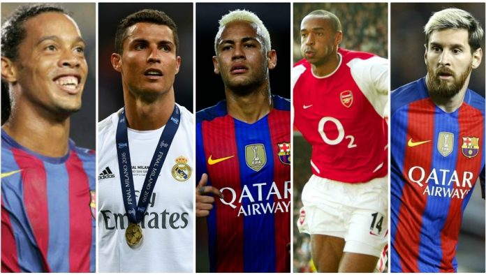 Top 10 siêu sao bóng đá thành công ở tuổi 25: Ai mới là vua tuổi 25 ?