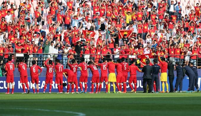U20 Việt Nam tri ân khán giả, từ biệt World Cup
