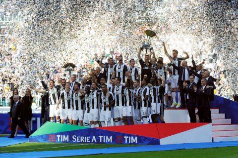Juventus lập kỷ lục vô địch Serie A