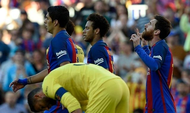 Tam tấu MSN cùng nổ súng, Barca đè bẹp Villarreal