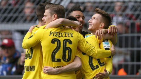 Aubameyang ấn định chiến thắng trên chấm Penalty, Dortmund chính thức lên ngôi tại Cúp QG Đức